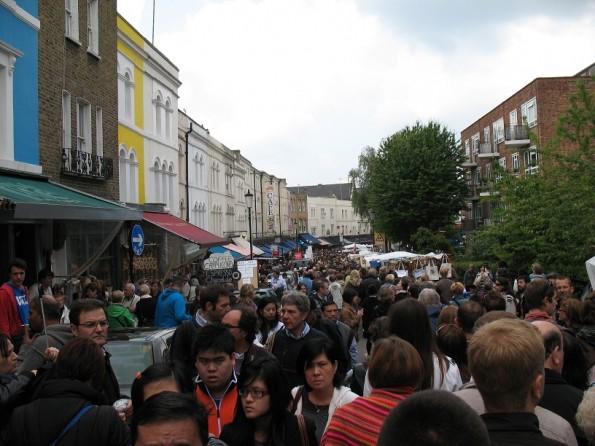 Markt op Portobello Road