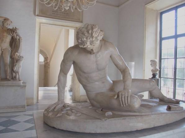 De Stervende Galliër. Wat een kunstwerk!