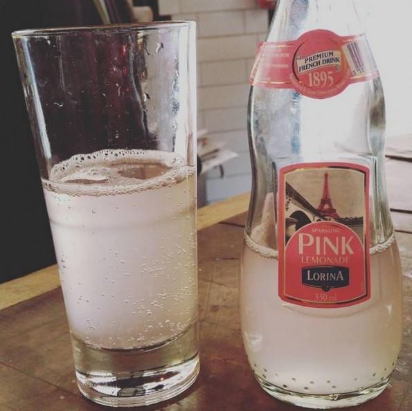 Lorini Pink Lemonade; alleen het kleurtje is al geweldig!