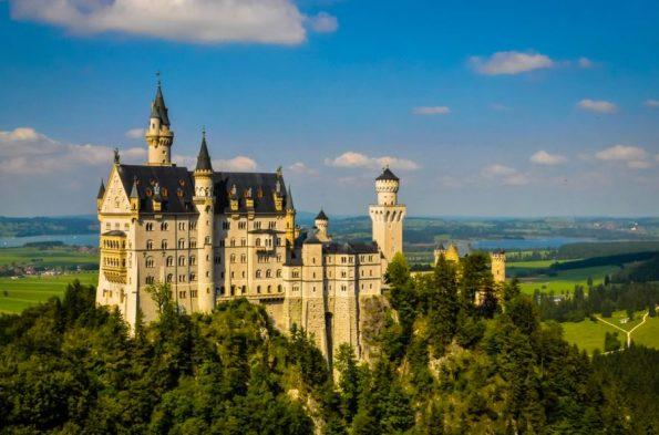 Een kasteel op de route van de Romantische Strasse: houd dit weekend mijn blog in de gaten!