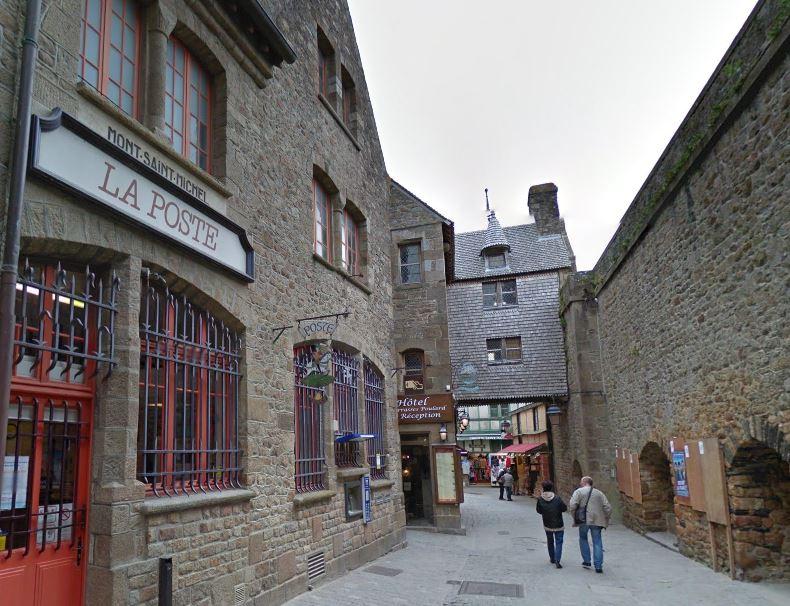 Het oude straatje Grande Rue