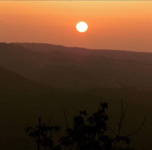 Toscane sunset