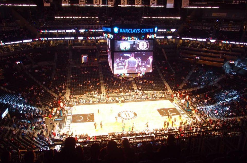 Naar de Brooklyn Nets in Barclay Center