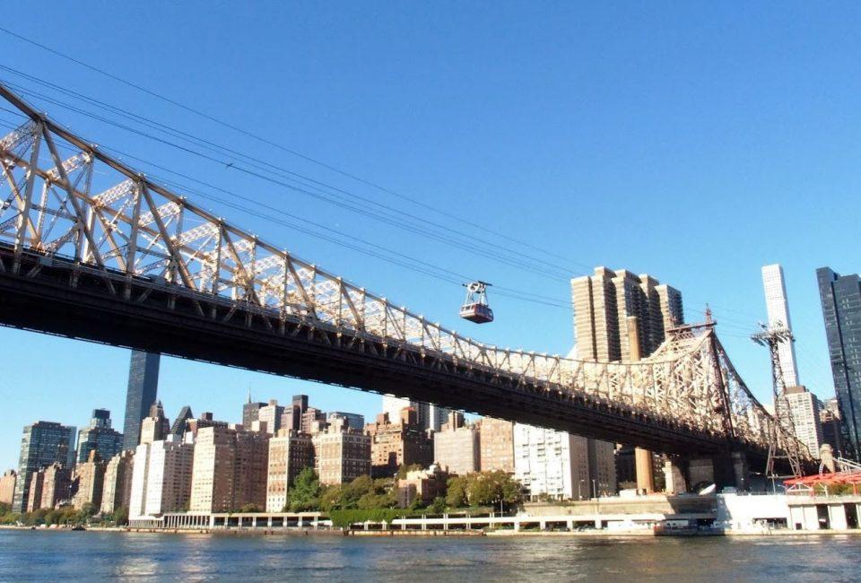De gondel over East River