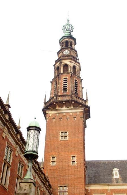Toren van het Leidse stadhuis
