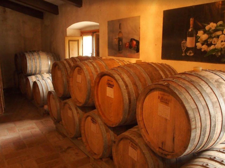 Castello di Verrazzano wijnvaten
