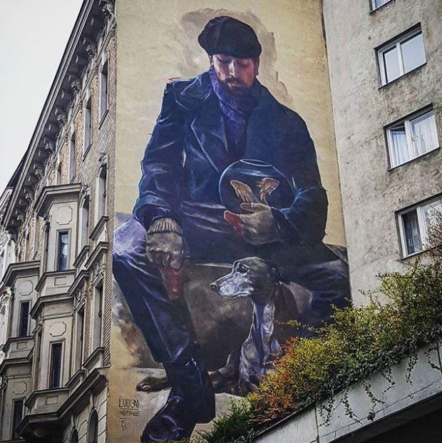 Streetart in Mariahilf