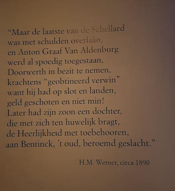 Kasteel Doorwerth gedicht