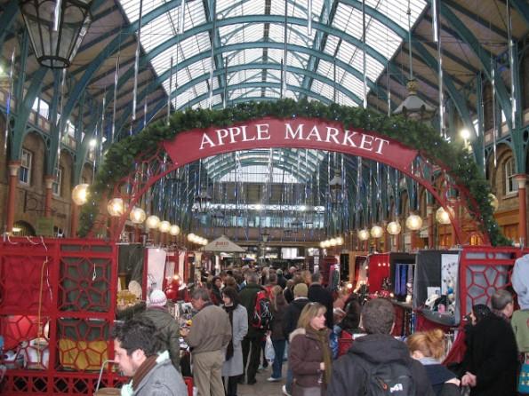 Covent Garden is prachtig in de adventstijd!