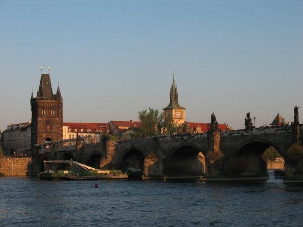 De Moldau met de Karelsbrug