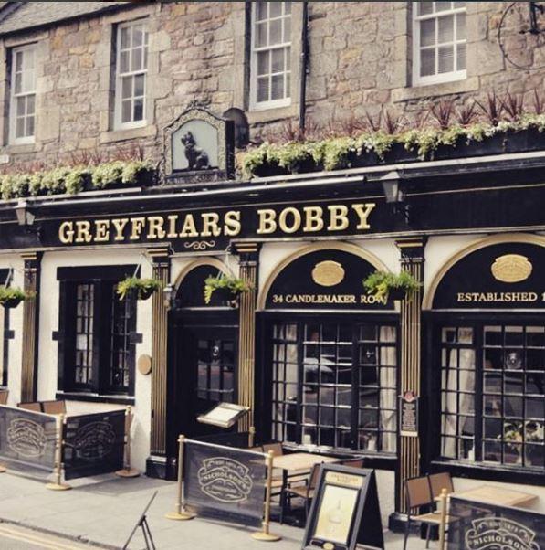 De Greyfriars pub in Edinburgh.