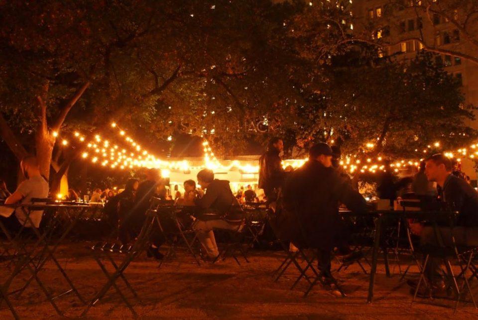 ShakeShack in Madison Square Park blijft mijn favoriet!
