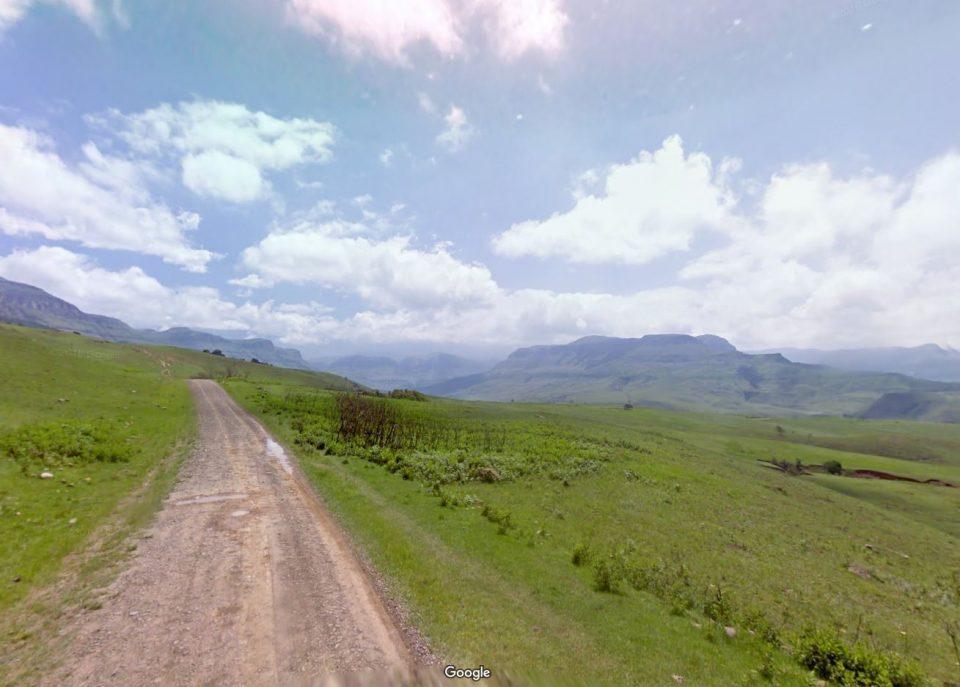 De prachtige Drakensbergen, waar we onze reis beginnen!