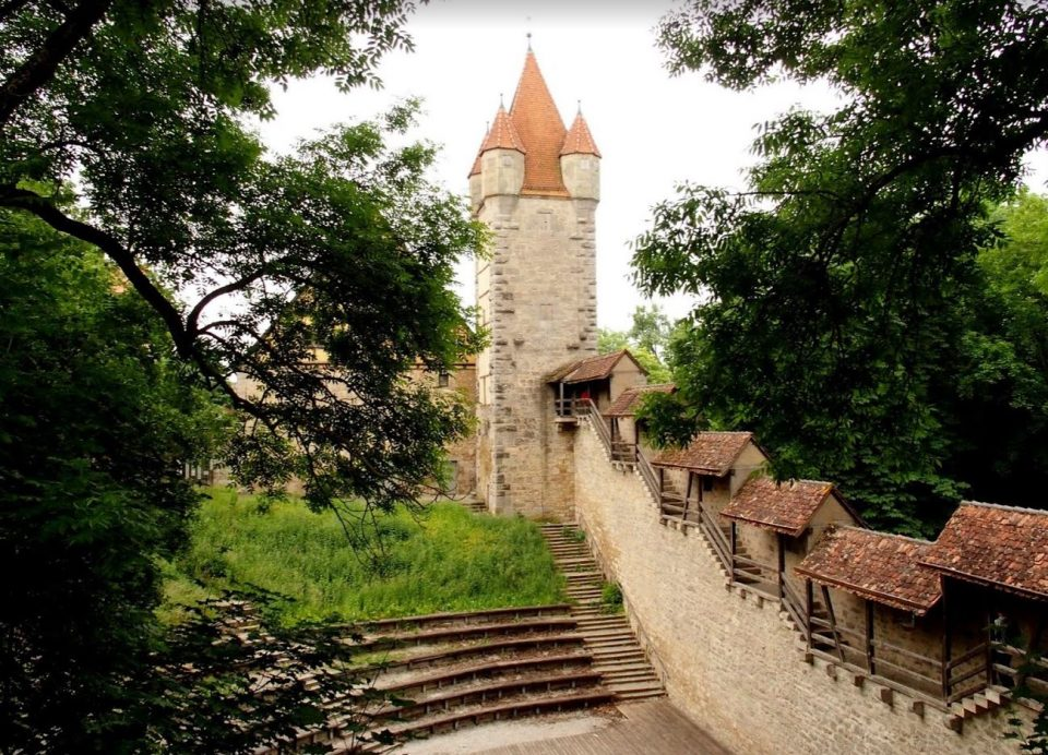 Rothenburg stadsmuur