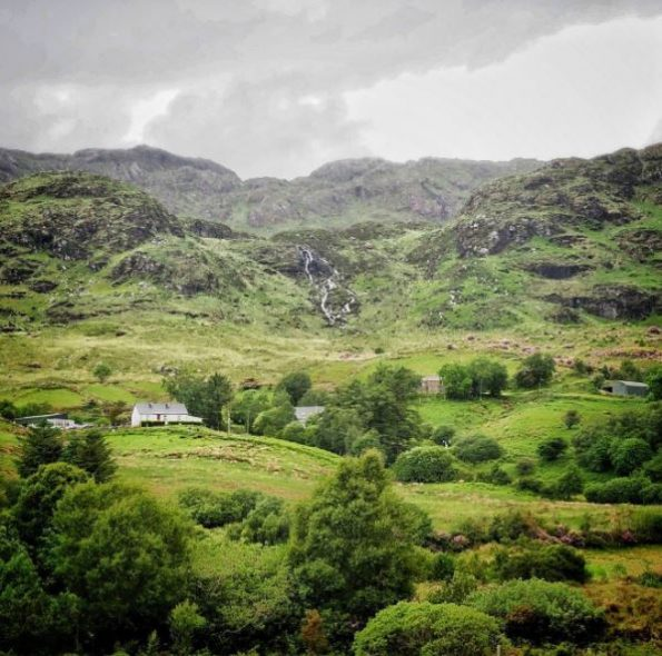 Ierland Donegal Lough Eske