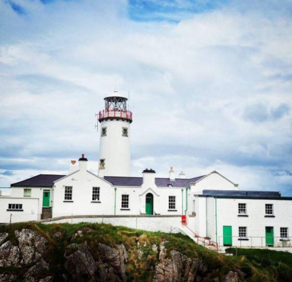 Fanad Head vuurtoren Donegal Ierland