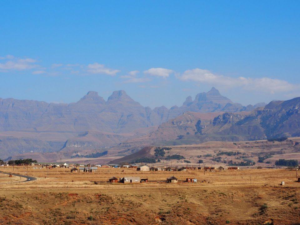 Drakensbergen Zuid-Afrika blog