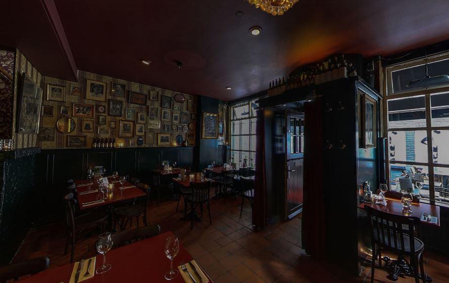Mej. Janssen Arnhem restaurant
