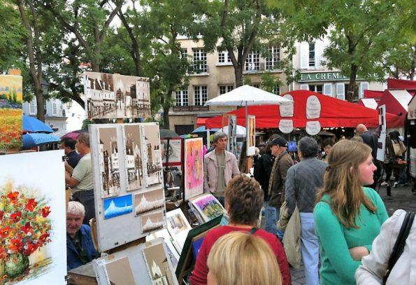 Parijs Place du Tertre