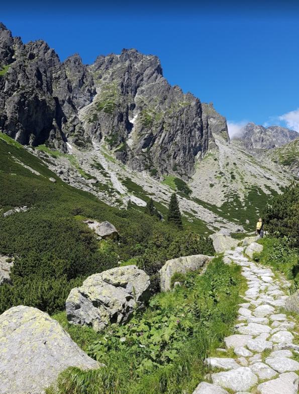 Malá Studená dolina wandelen Tatra