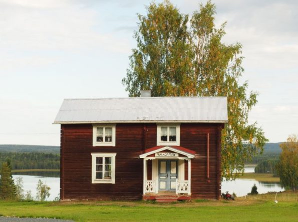 Oostkust van Zweeds Lapland