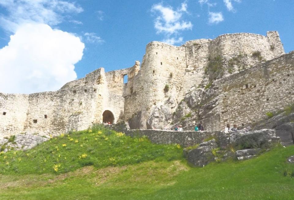 Spiss Castle Slowakije