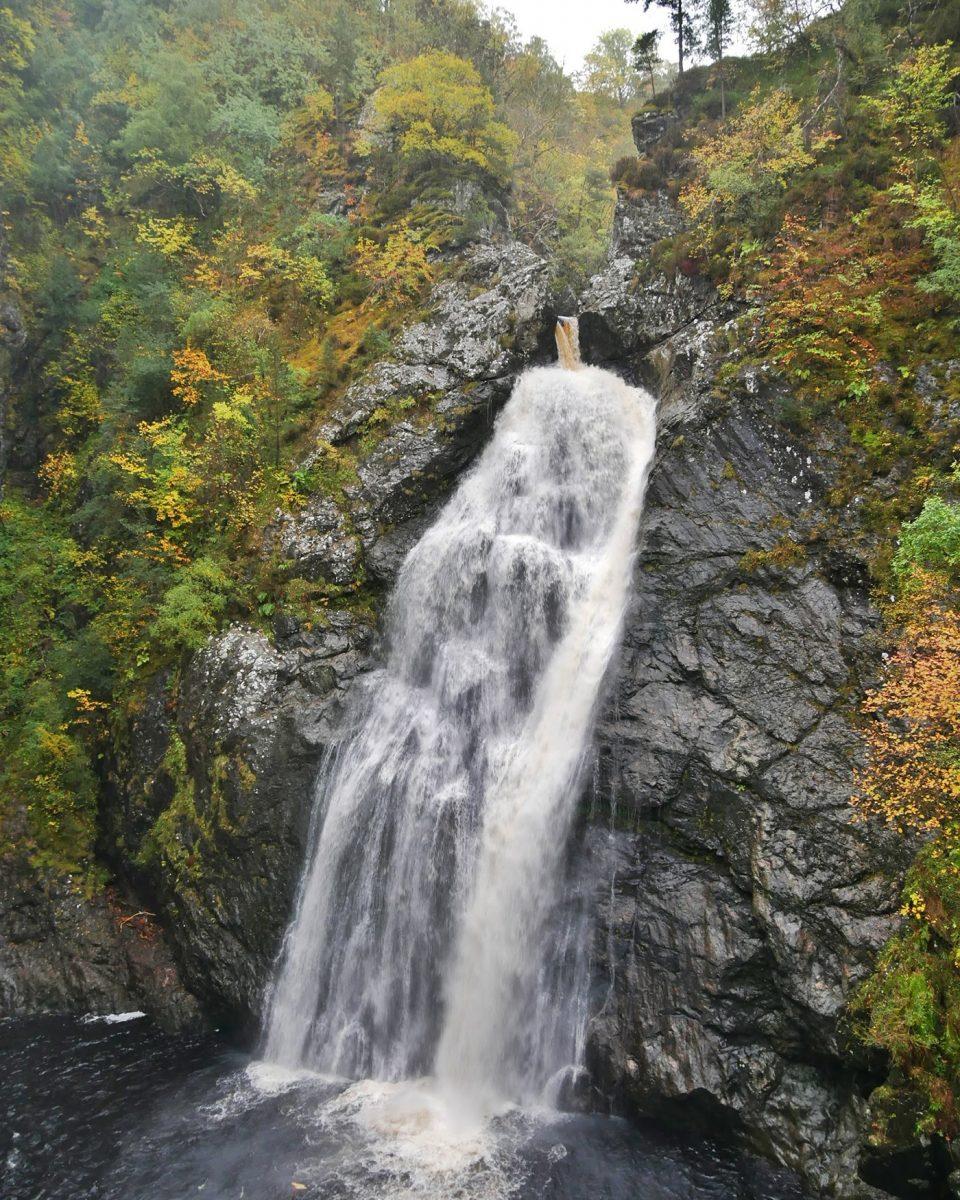Foyer Falls Schotland