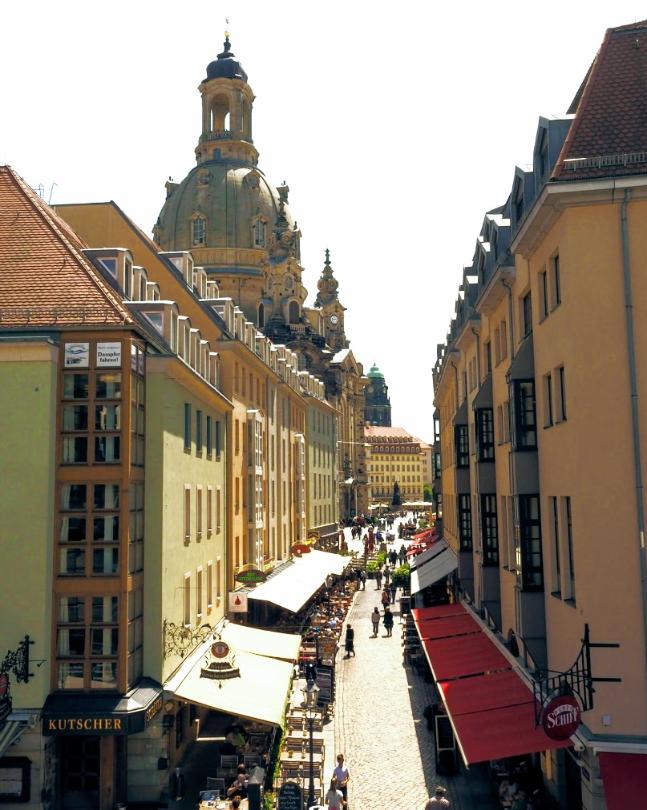 Dresden omstreden bombardement