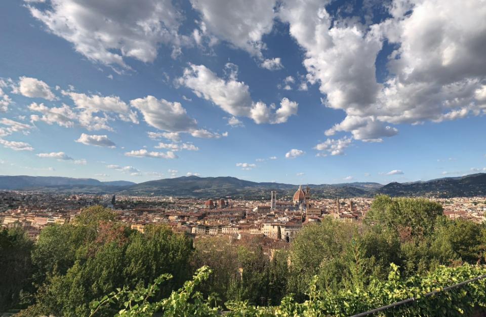 Uitzicht Florence