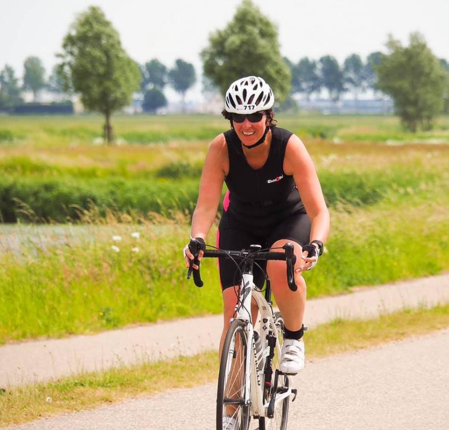 Triatlon fietsen Haarlemmermeer