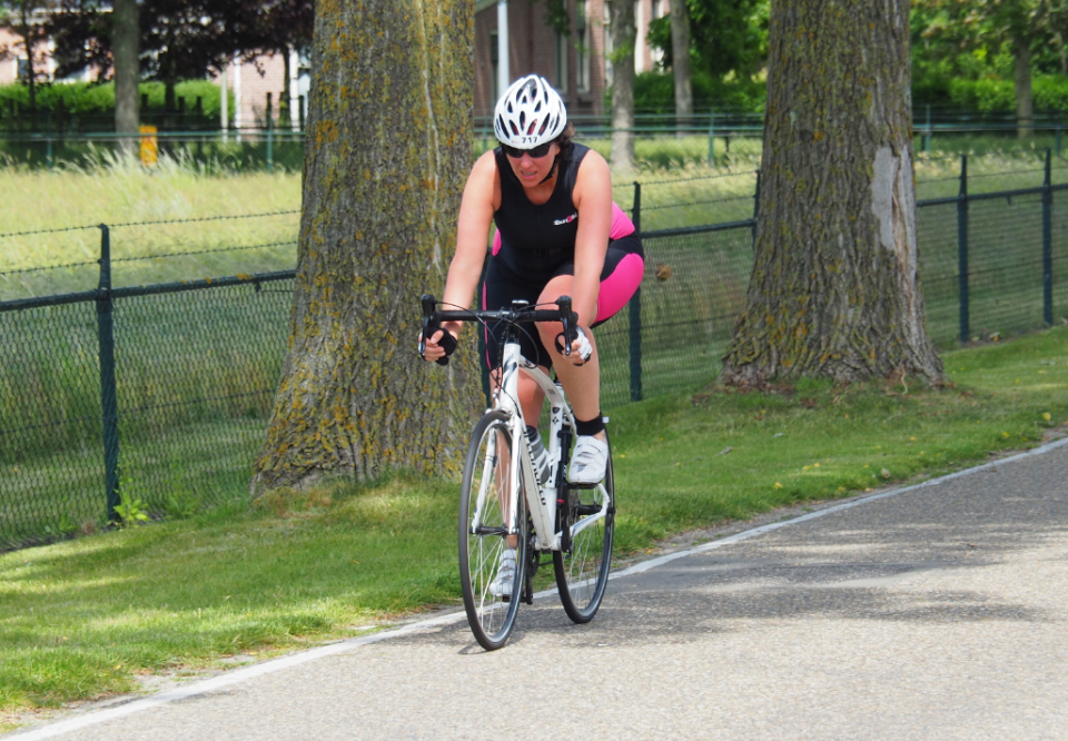 2019 trainen eerste triatlon
