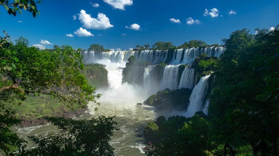 Iguazu watervallen voorbereiding
