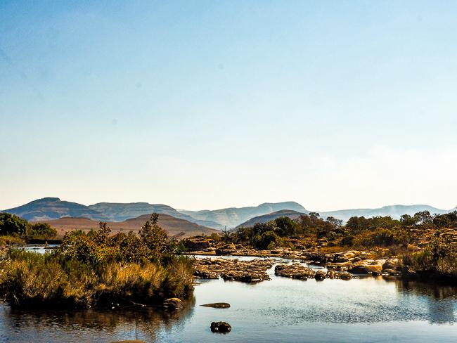 Panoramaroute Potluck Boskombuis Treur-rivier