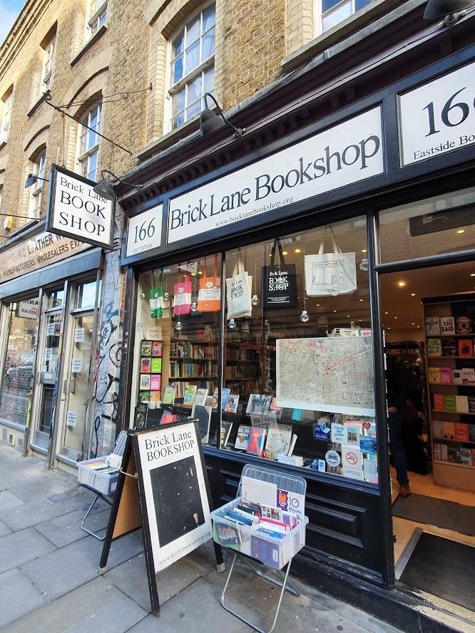 Brick Lane Bookshop Shoreditch