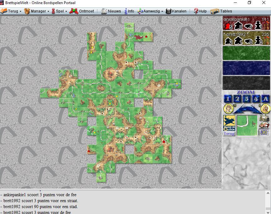 Carcassonne online spelen