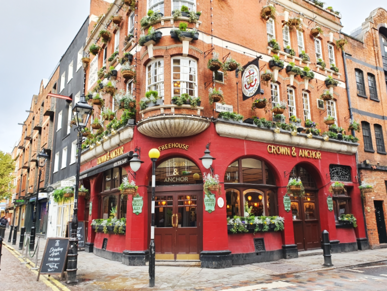 Crown and Anchor Hotspots in Londen