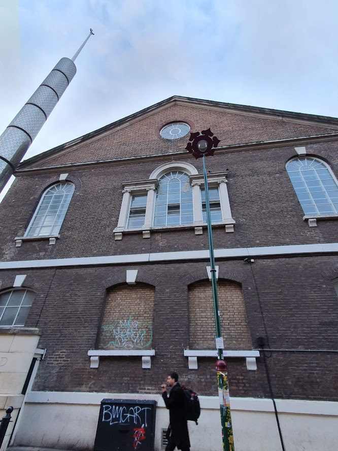 Brick Lane hugenotenkerk Shoreditch