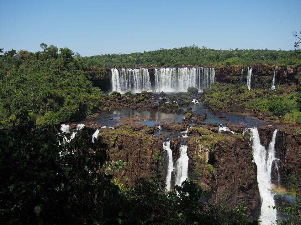 Iguazu Braziliaanse kant