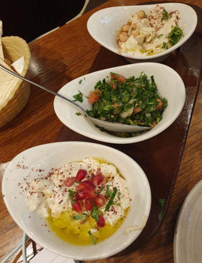 Mezza Plate Paramount Libanese