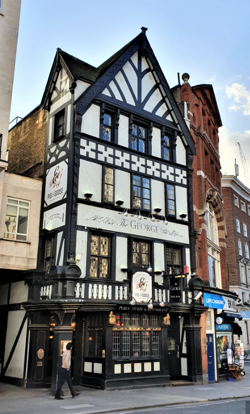 The George Hotspots in Londen