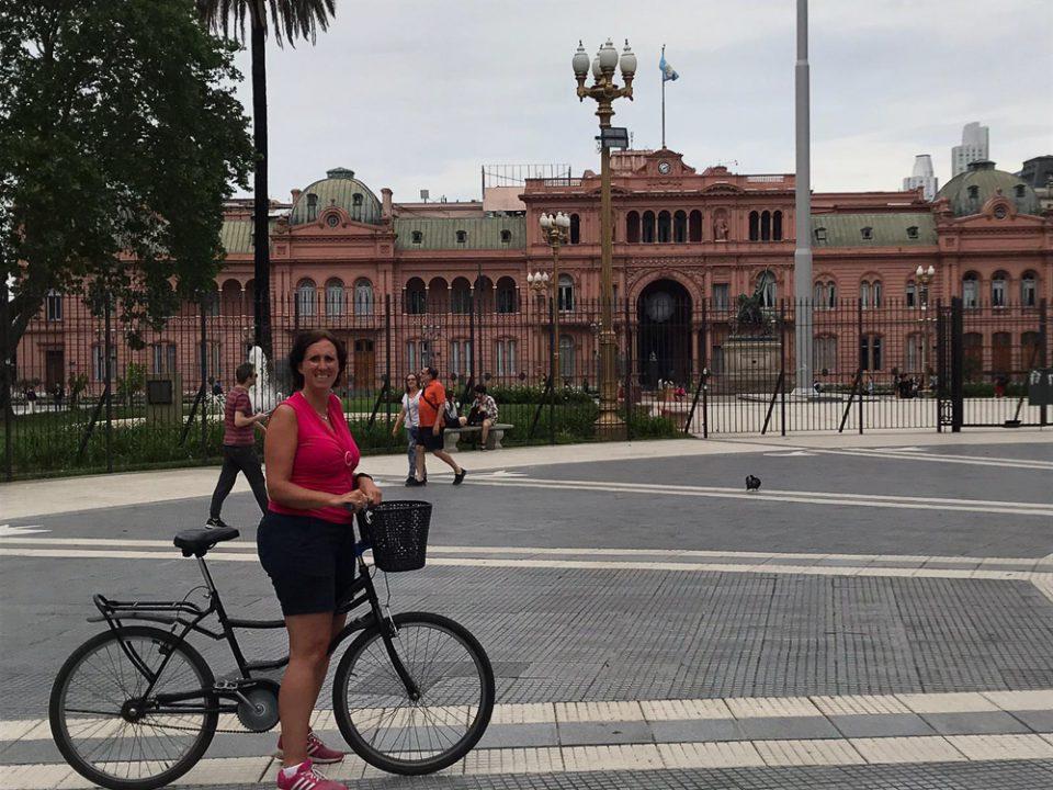 Fietsen in Buenos Aires